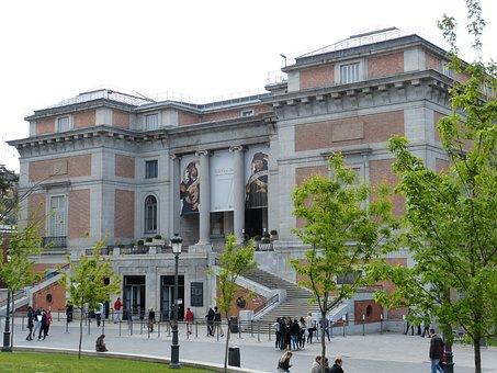 Madrid, Spain, Capital, Museum, Prado, Art