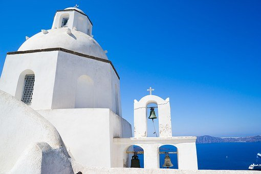 Santorini, Chapel, Greece, Church, Religion, Greek
