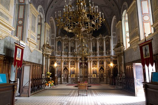 St George's Cathedral, Church, Serbia, Inside, Interior