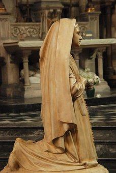 Image, Statue, Devout, Religion, Faith, Church