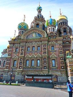 Church, Russian, St Petersburg, Spilled Blood