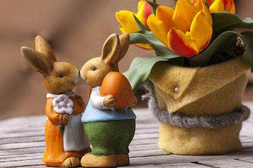 Easter Bunny, Customs, Custom, Osterhasen Few