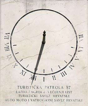Sundial, Lunch, Sun, Shadow, Time, Time Of, Day