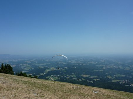 Paragliding, Paraglider, Air Sports, Fly, Pilot, Human