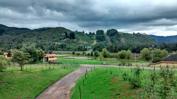 Landscape, Green, Nature, Mountain, Garden, Clouds
