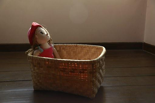 Doll, Furniture, Room, Girl, House, Interior, Nobody