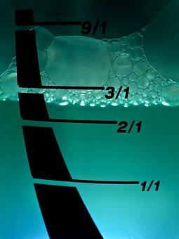 Water Level Indicator, Liquid, Ad, Water Bubbles, Foam