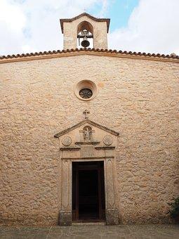 Input, Monastery, Church, Ermita Sant Honorat, Mallorca
