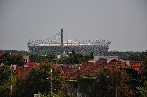 Warsaw, Stadion, National Stadium, Sport, Football