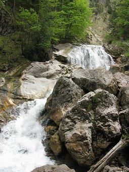 Poellatklamm, Kristin, Bavaria, Water, Germany, Nature