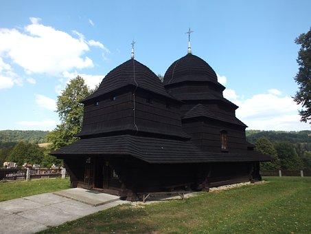 Orthodox Church, Church, Temple, Monument, Wooden
