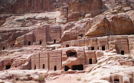 Jordan, Petra, Travel, Raqmu, Historical
