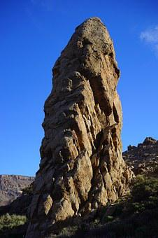 Torrotito, Roque Torrotito, Rock Tower, Pinnacle, Rock