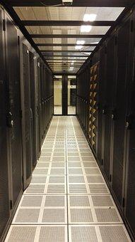 Server Room, Data Center, Computers, Servers