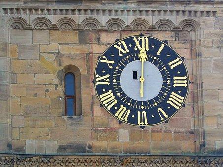 Clock, Clock Tower, Clock Face, Time Indicating, Hour