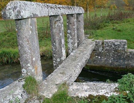 Water Dam, Monuments, Altmühl Valley, Granite Stone, 17