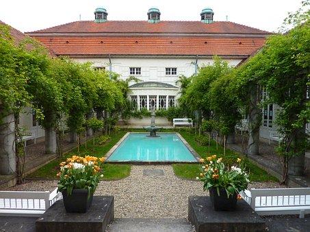 Building, Garden, Home, Park, Architecture, Facade