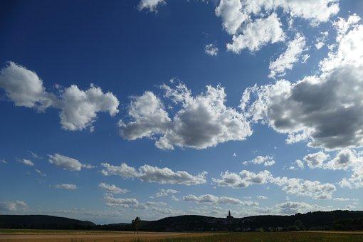 Sky, Clouds, Nabburg, Upper Palatinate, Bavaria