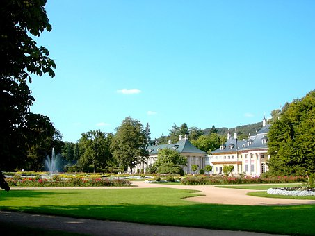 Castle, Pillnitz, Mountain Palace, Pleasure Garden