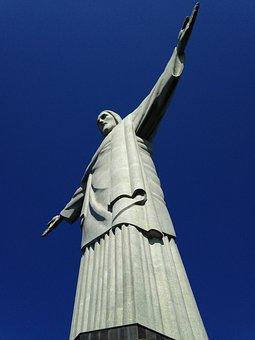 Corcovado, Christ, Brazil, Rio De Janeiro Vacation