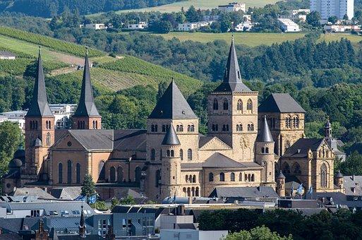 Trier, Church, Germany, Landmark, Religion