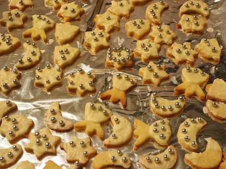 Cookie, Ausstecherle, Guzle, Christmas, Cookie Cutter