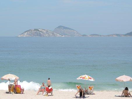 Copacabana, Rio De Janeiro Vacation, Brazil, Beach