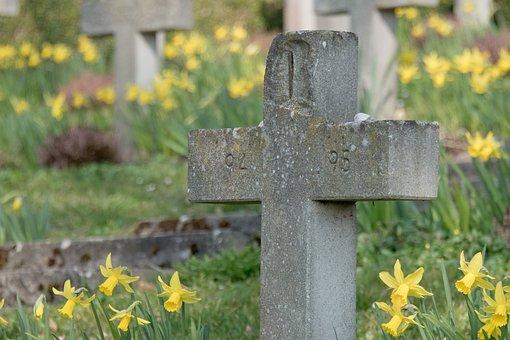 Cemetery, Cross, Funeral, Birnau, Lake Constance