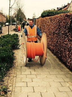 Glass Fiber, Broadband, Cable, Eersel, Brabant