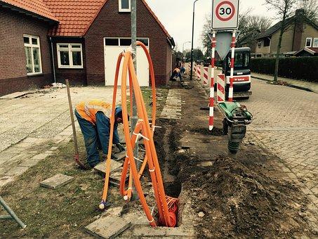 Glass Fiber, Broadband, Eersel, Brabant