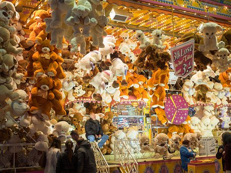 Year Market, Fair, Folk Festival, Hamburg, Germany
