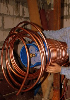 Helical, Copper, Coil, Diy, Heat Exchangers, Heating