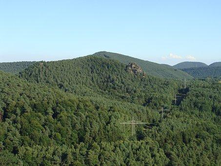 Kleiner Rauhberg, Palatinate Forest, Hill, Mountain