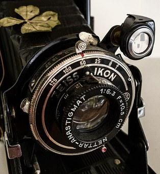 Lens, Zeiss Ikon, Photo Camera, Historically