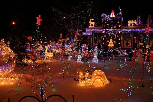 Christmas, Lights, Decoration, Holiday, Light, Xmas