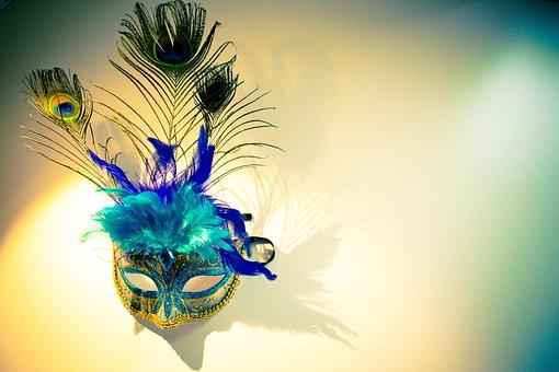 Venetian Mask, Mask, Venetian, Carnival, Face