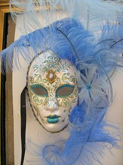 Mask, Masquerade, Carnival, Venice, Italy, Costume