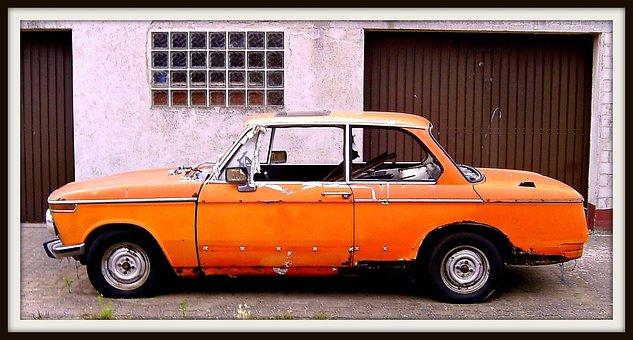 Bmw, Orange, Palatinate, Neustadt An Der Weinstraße