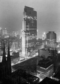 Rockefeller Center, Skyscraper, New York City, Nyc
