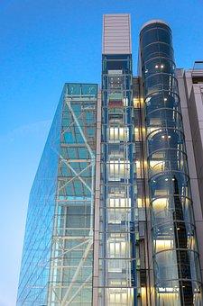 Office Building, Architecture, Facade, Window, Design