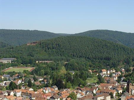 Neding, Hauenstein, Palatinate Forest, Town, Village