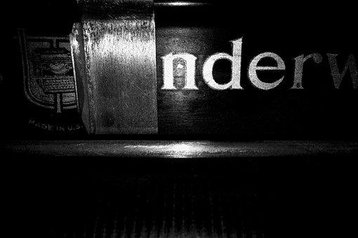 Typewriter, Vintage, Hipster, Retro, Letter, Paper