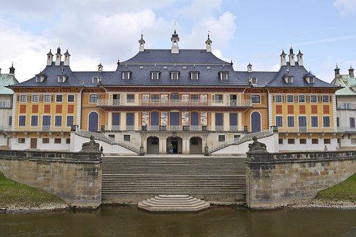 Castle, Dresden, Elbe, Pillnitz, Saxon Switzerland