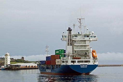 Shipping, River Tyne, Newcastle, Feederlink
