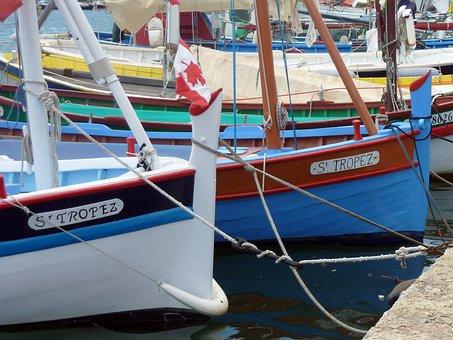 Boats, Sailing Boat, Fishing Boat, St Tropez