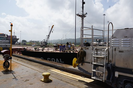 Panama, Channel, Gatun, Lake, Work, Hard, South America