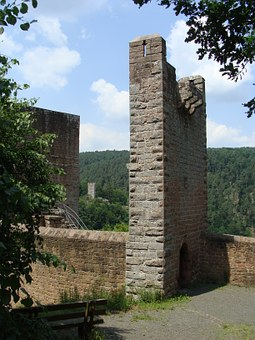 Spangenberg, Palatinate Forest, Fortress, Tower, Ruin