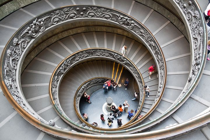 Spiral Staircase, Stairs, Architecture, Staircase