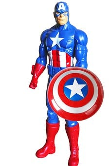 Super Hero, Captain America, America, Captain, Costume