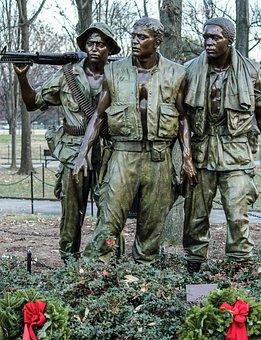 Vietnam Soldier's Memorial, Washington Dc, Bronze